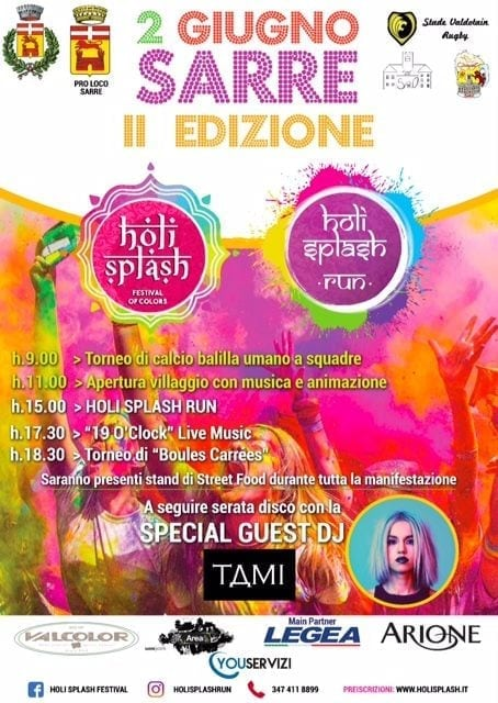 Holi Splash Run 2018