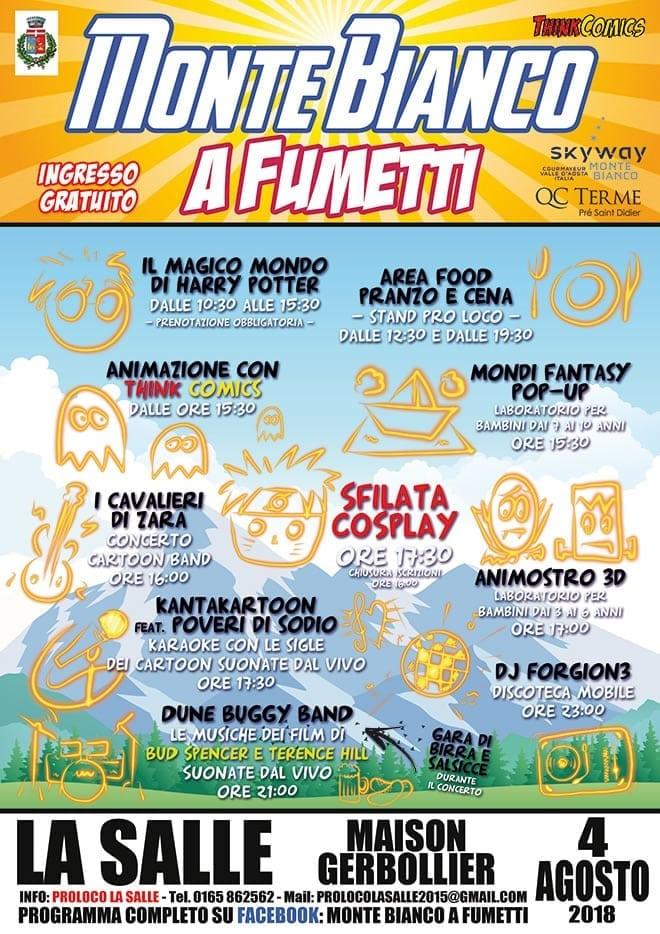 Monte Bianco a Fumetti 2018